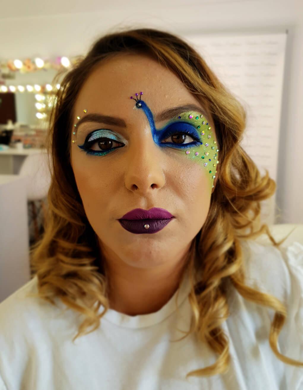 machiaj profesional creativ desen diana raicu makeup