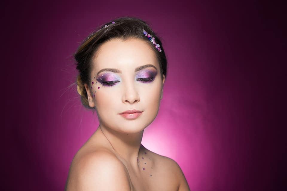 machiaj profesional creativ roz diana raicu makeup artist